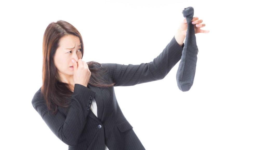 足臭対策に抗菌消臭靴下がオススメ!