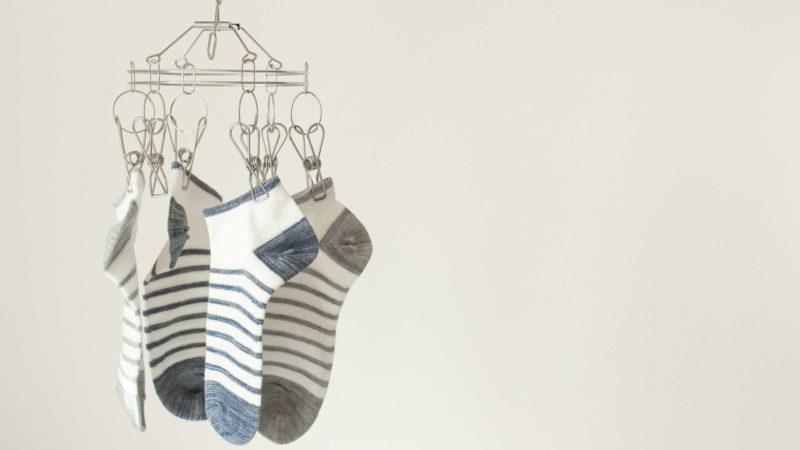 臭い靴下の臭いを取る方法