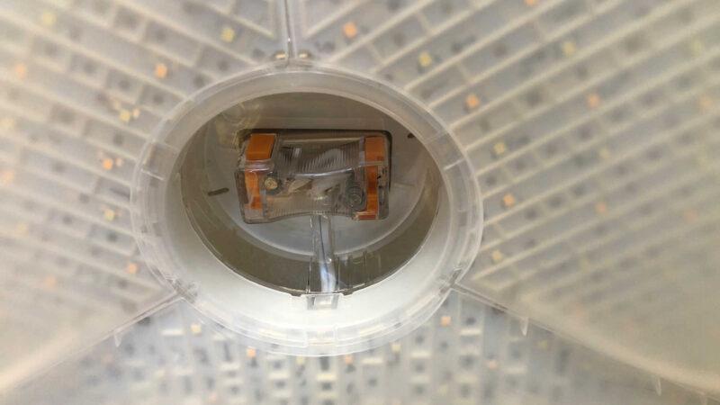 LEDシーリングライト CL6DL-6.0UAITの中央部アップ