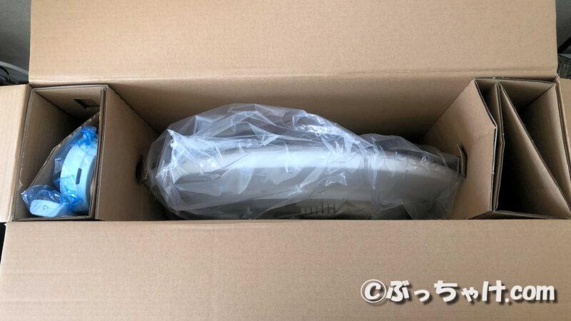 CL6DL-6.0UAITの梱包箱を開封