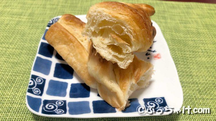 「塩バター風味のクロワッサンスティック」の食レポ!